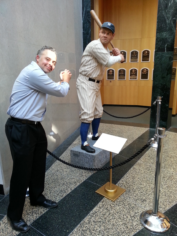 'I'll Knock a Homer for You' being screened at the Baseball Film Festival at National Baseball Hall of Fame (Cooperstown, NY)